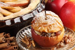 Grilled Baked Apples
