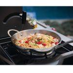 Napoleon-Prestige-Pro-825-side burner food-ycnga