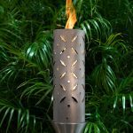 Diamond Plate Style Fire Torch